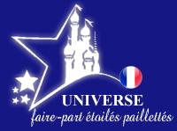 Universe  Aux Faire-Part Étoilés